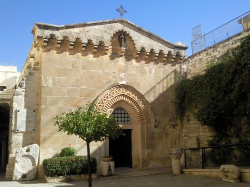 Дворик Пилата: бичевание и возложение Креста